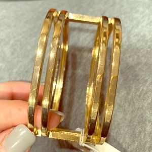 Woman's gold NWT NY&Co gold bracelet